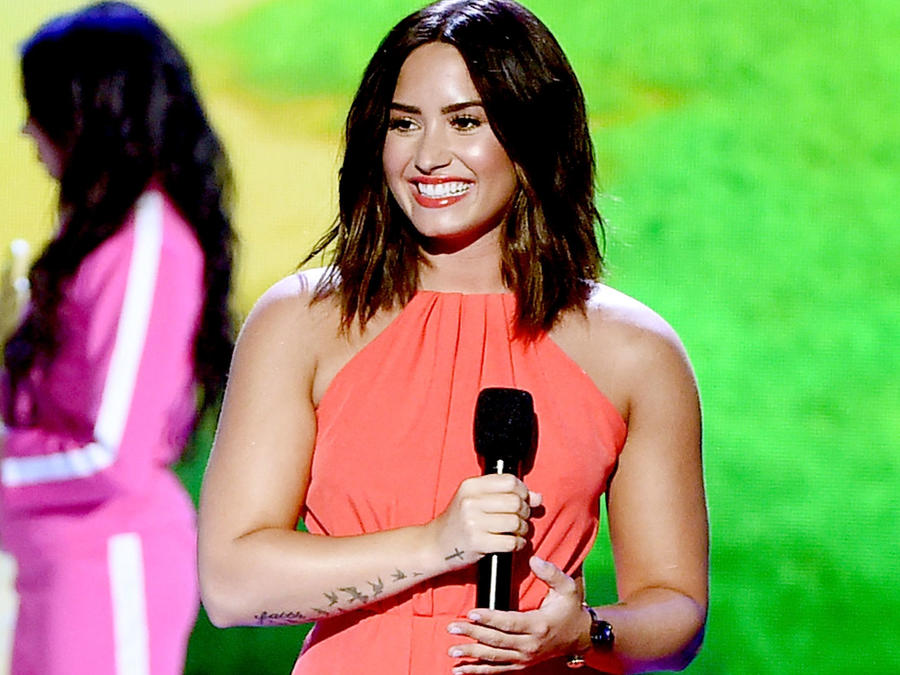 Demi Lovato en los Kids Choice Awards 2017
