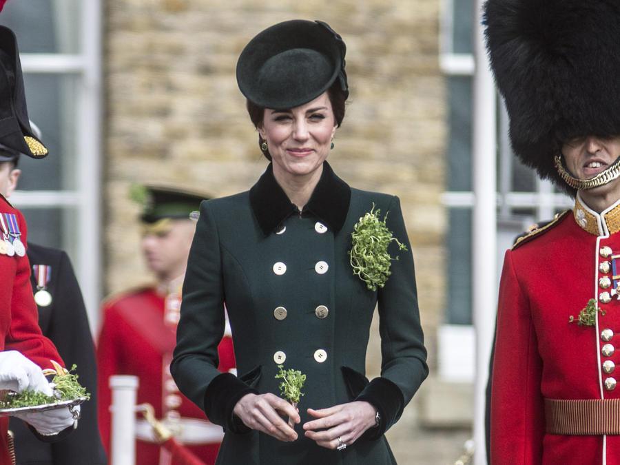 Kate Middleton celebrando St. Patrick's Day 2017