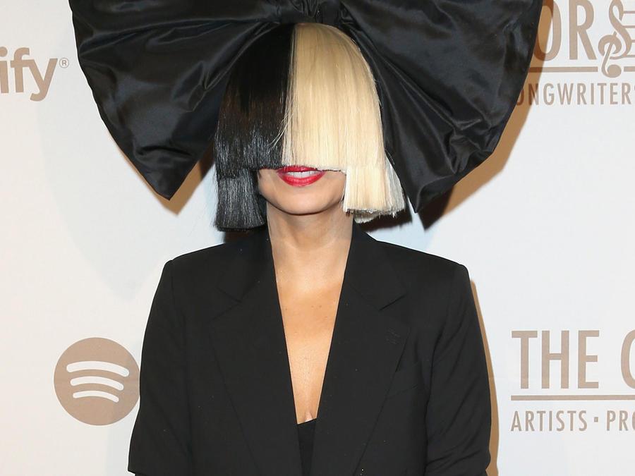 Sia en la Creators Party presentada por Spotify 2016