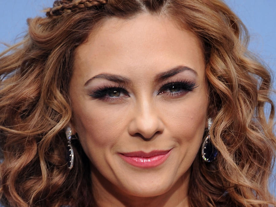 Aracely Arámbula en presentación de NBCUniversal 2016