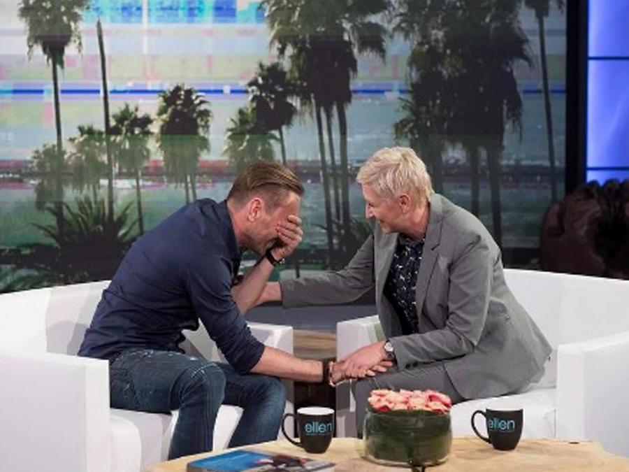 Entrevista falsa Ellen Degeneres