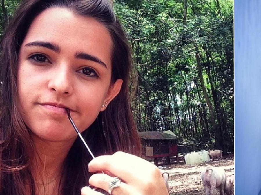 Hija de Carlos Vives posa desnuda