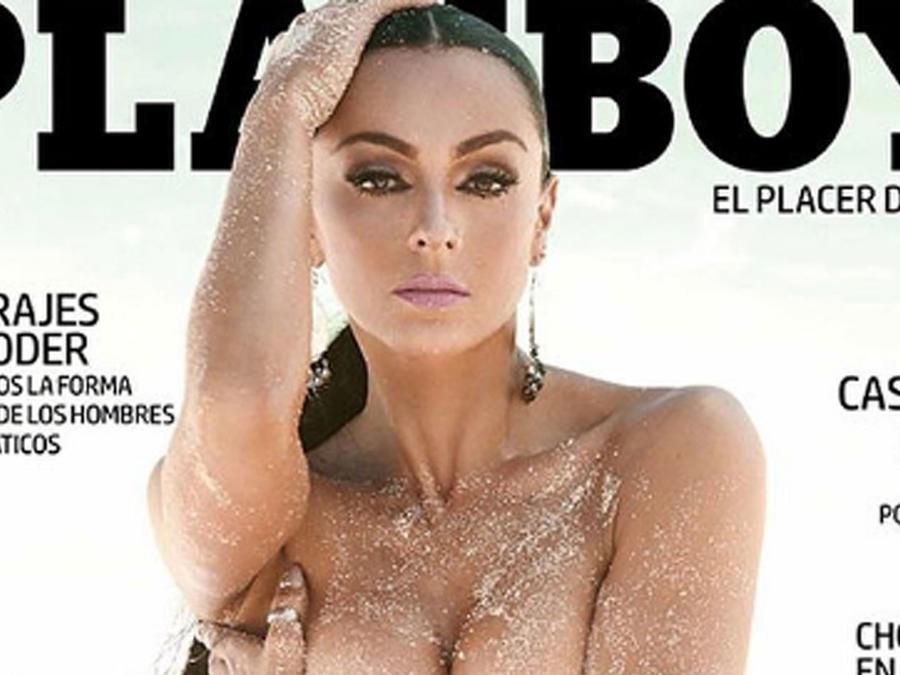 Ivonne Montero posa para Playboy