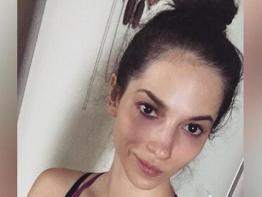 Paty Cantú sin maquillaje selfie