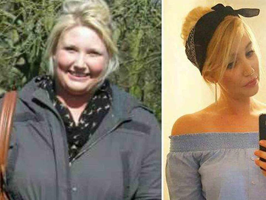 Megan Mcgee antes y después de bajar de peso