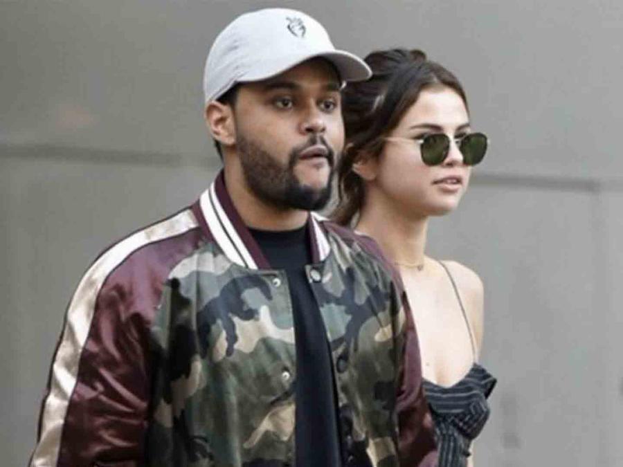 The Wknd y Selena gomez caminando por Argentina