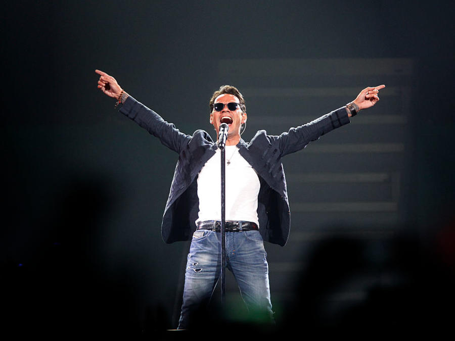 Marc Anthony Performs At SAP Center
