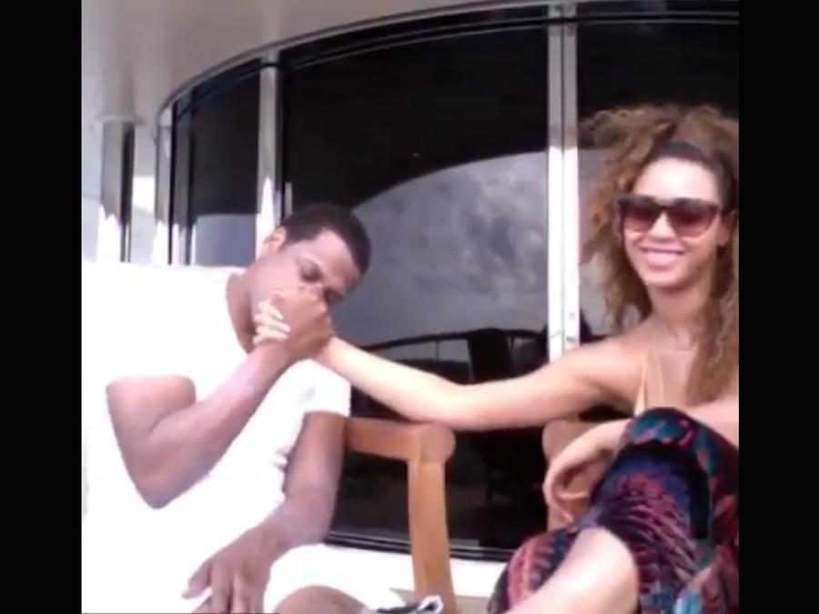 """Beyoncé y Jay Z en video """"Die With You"""""""