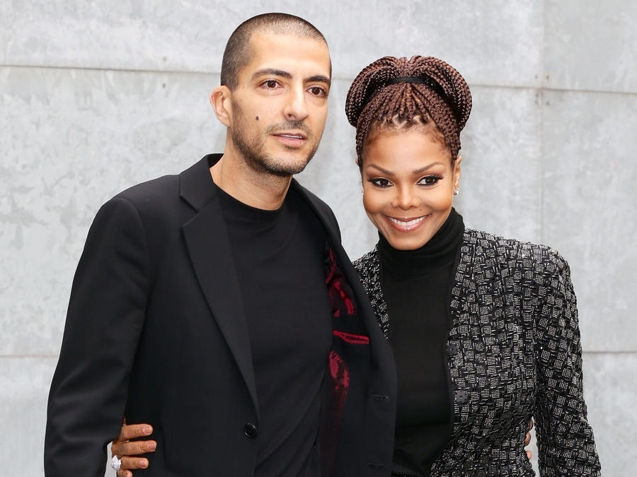 Janet Jackson y su esposo Al Mana