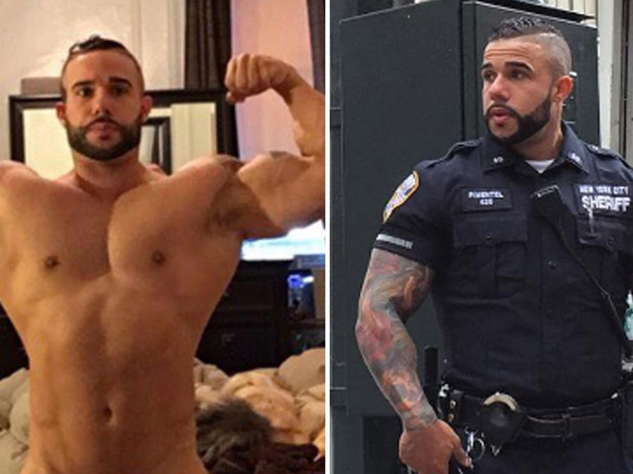 Miguel Pimentel, el policía más sexy de Nueva York se desnudó