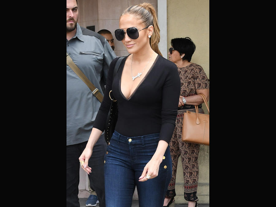 Jennifer Lopez de compras en Miami