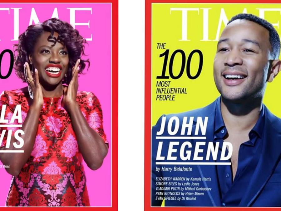 Portadas de la revista Time 2017
