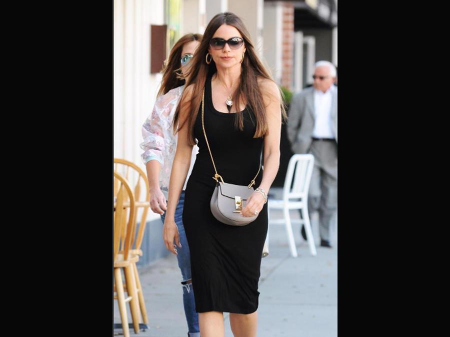 Sofía Vergara caminando en Los Ángeles
