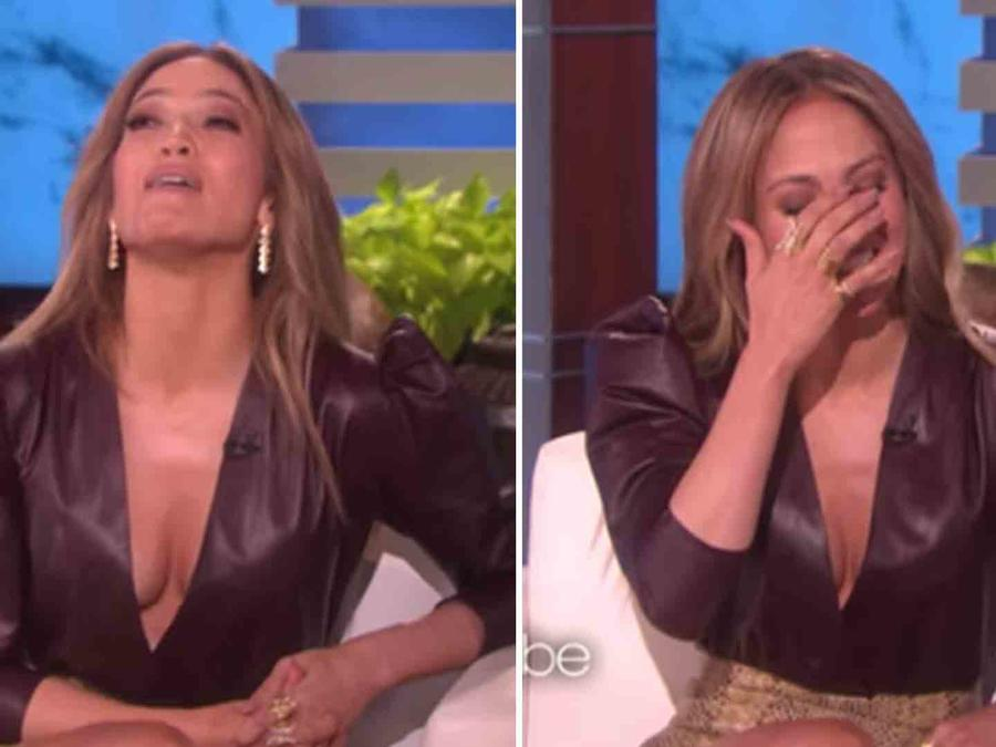 Jennifer Lopez on Ellen