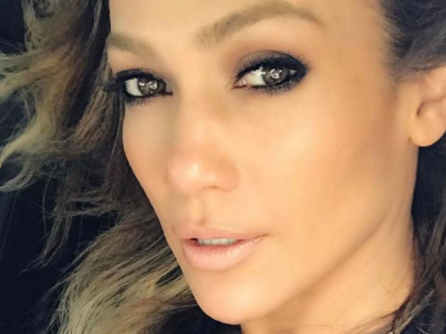 Jennifer Lopez desde Miami en selfie