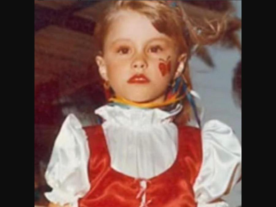 Sofía Vergara cuando era niña