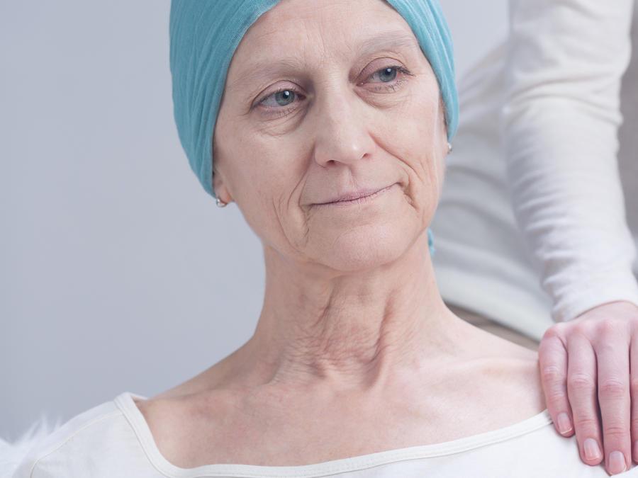 Paciente con cáncer y cuidador