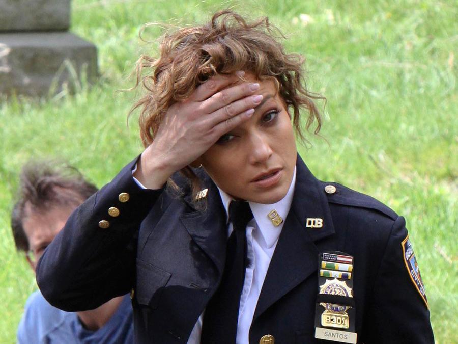 Jennifer Lopez después del MET Gala 2017