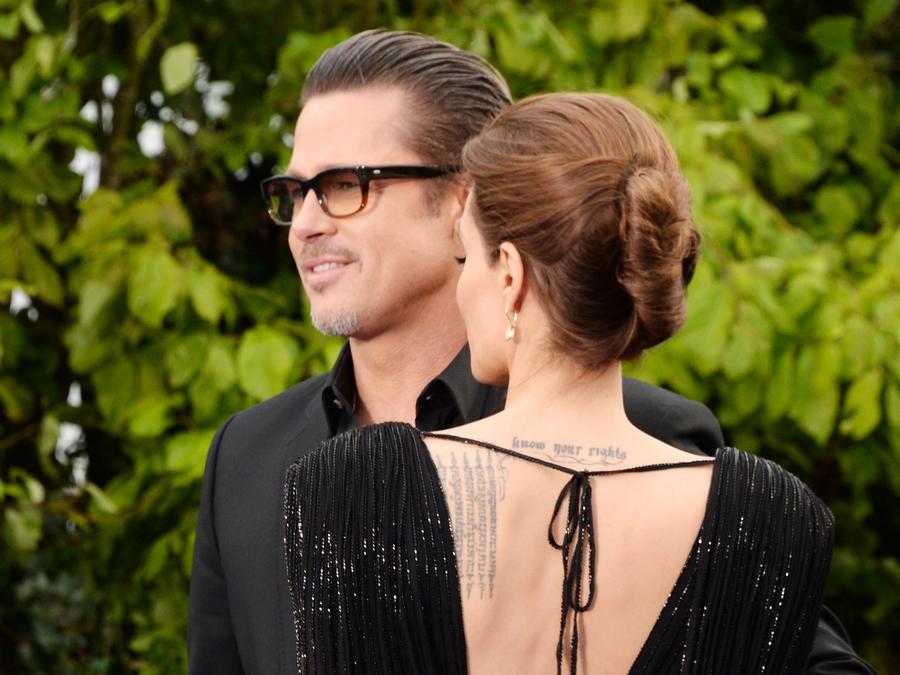 Brad Pitt y Angelina Jolie juntos