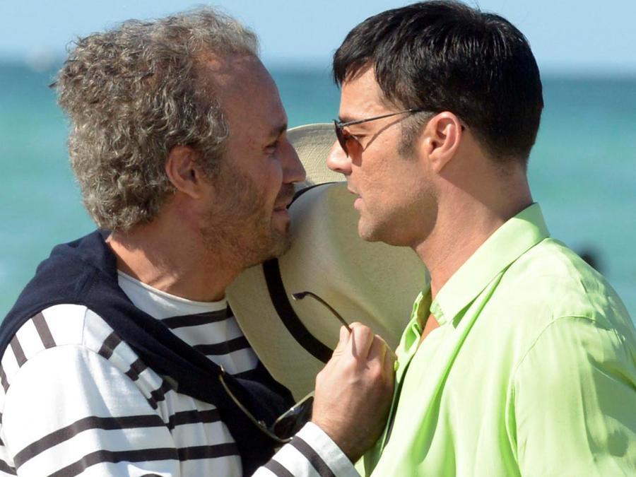 """Ricky Martín y Édgar Ramírez en """"American Crime Story"""""""