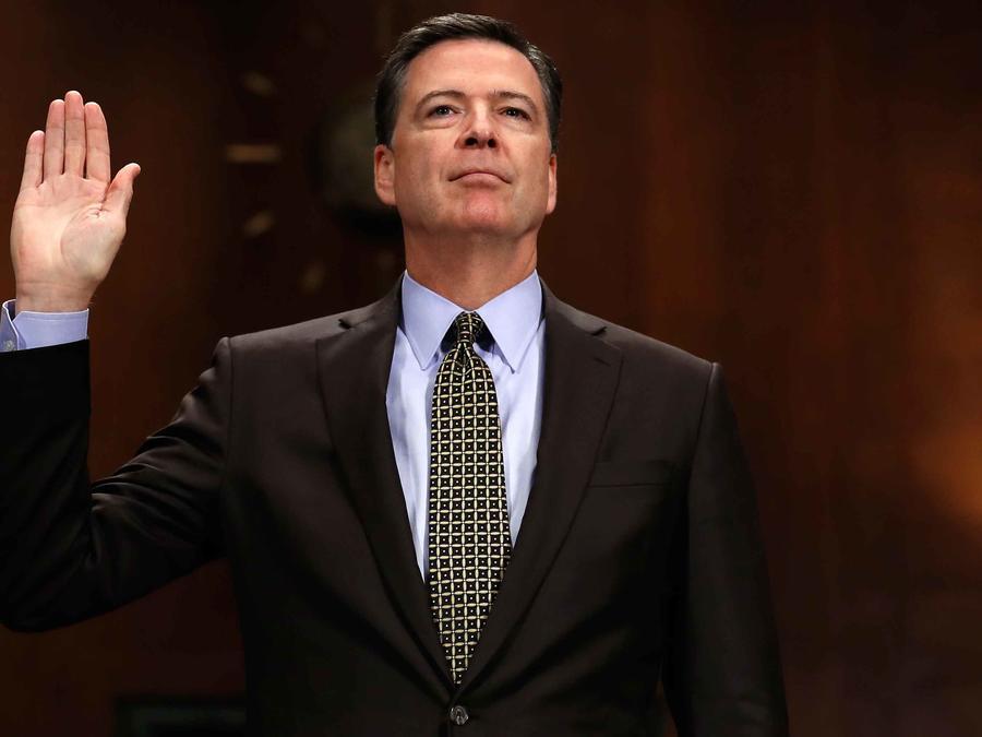 Ex director del FBI, James Comey, se dirige a comité de inteligencia del Congreso