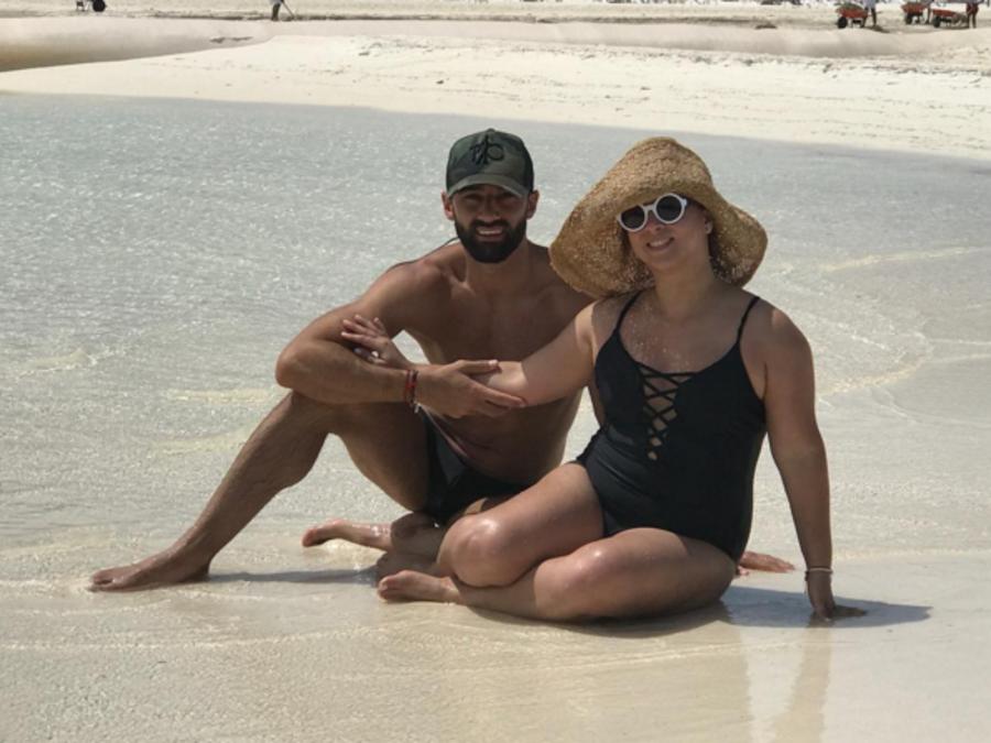Adamari López y Toni Costa en México