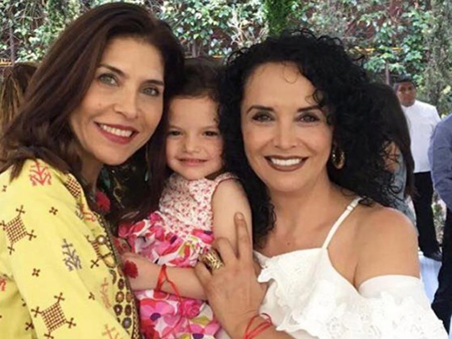 Lorena Meritano, Luciana y Mayra Rojas