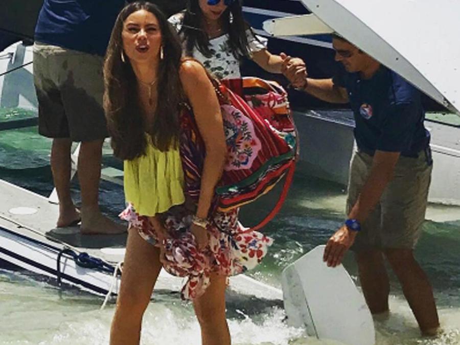 Sofía Vergara de vacaciones