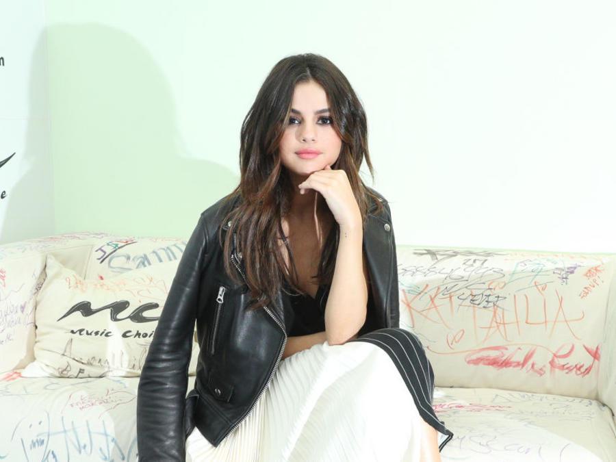 Selena Gomez Visita Music Choice