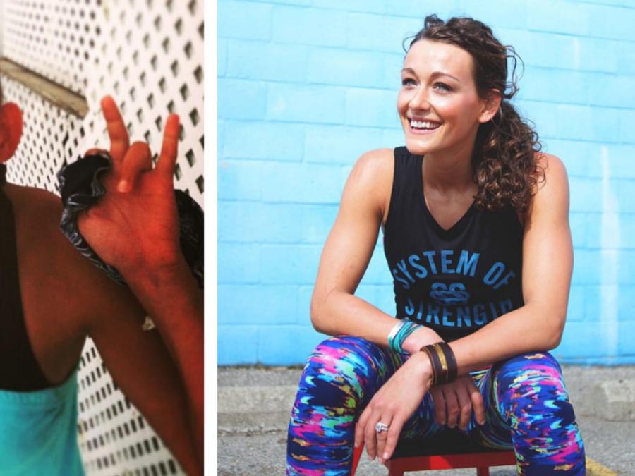 Darcey Wion antes y después del cáncer