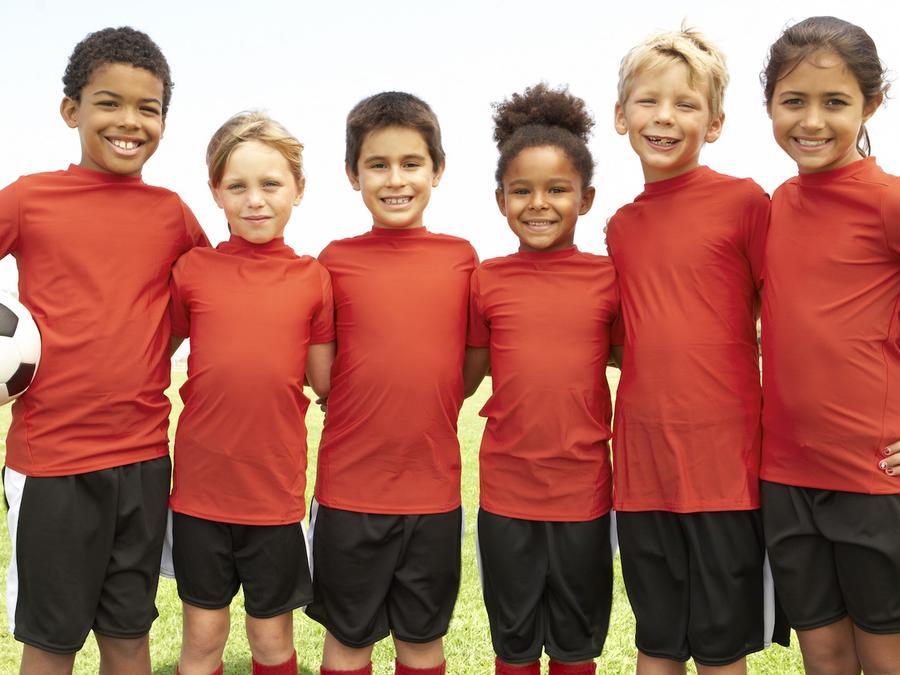 Equipo de soccer infantil