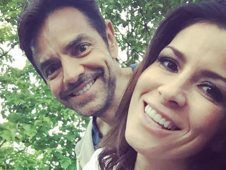 Eugenio Derbez con Alessandra Rosaldo