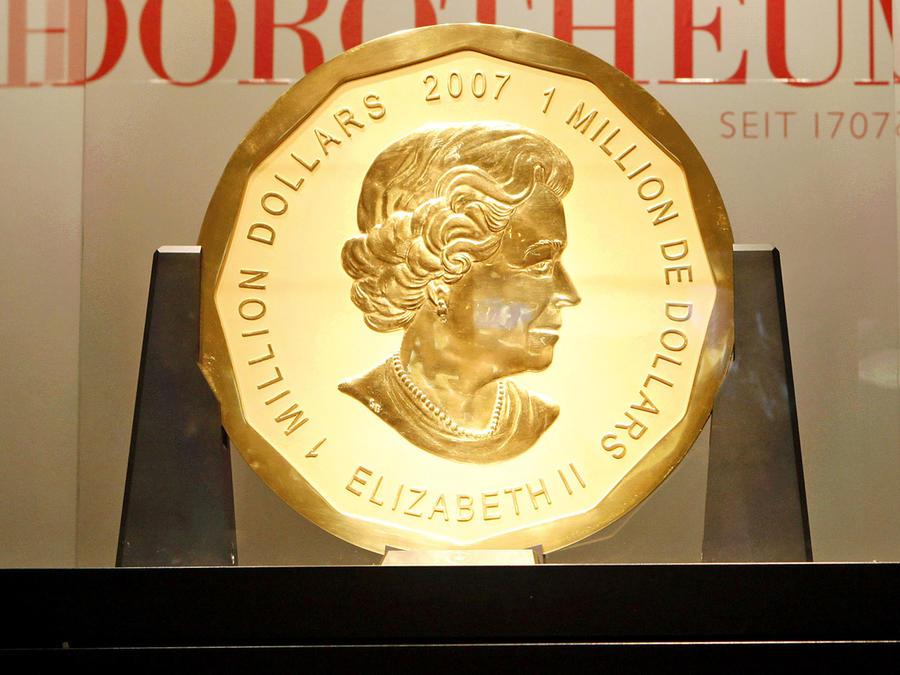 Así es la  moneda más cara del mundo que se robaron