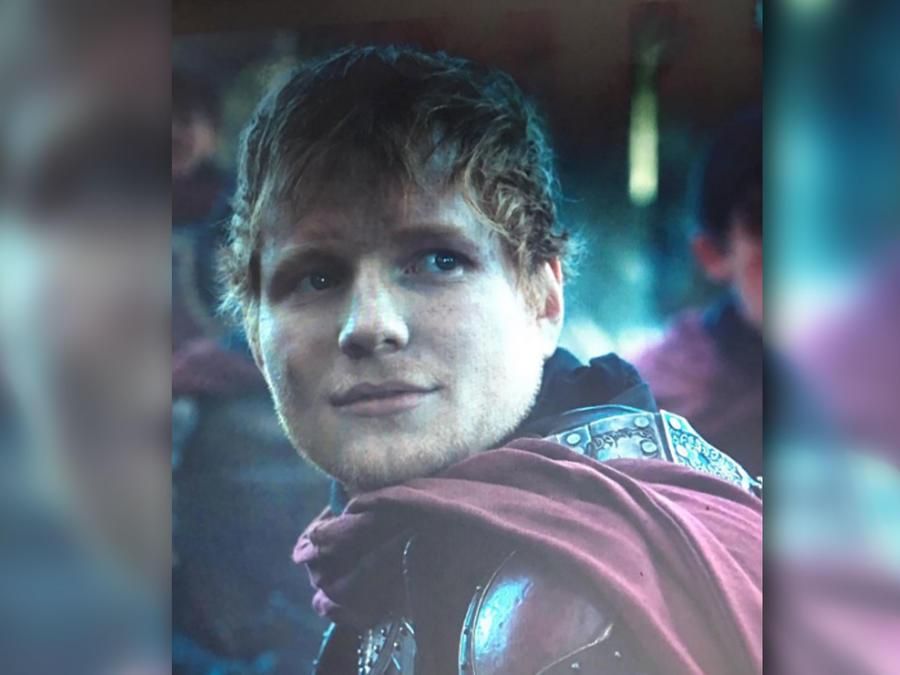 """Ed Sheeran apareció en la serie """"Game of Thrones"""""""
