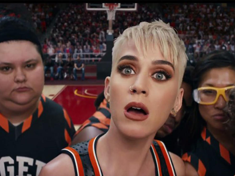 "Katy Perry ""Swish Swish"" video"