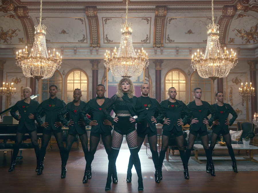 Taylor Swift en el video 'Look What You Made Me Do'