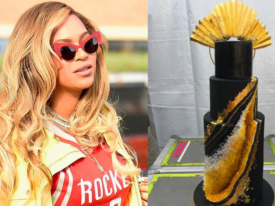Mira cuánto costo la lujosa y sofisticada tarta de cumpleaños de Beyoncé