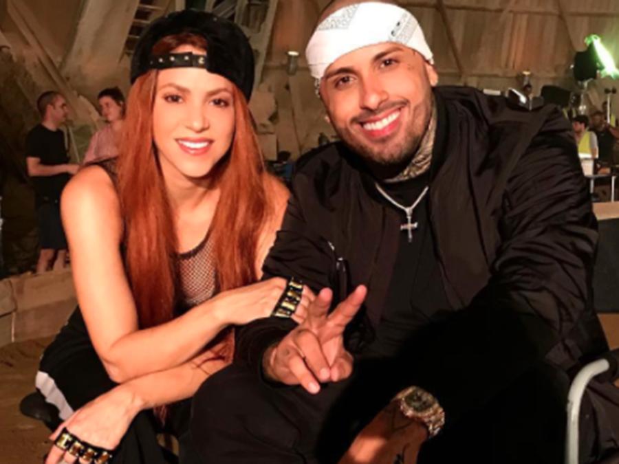 Shakira and Nicky Jam
