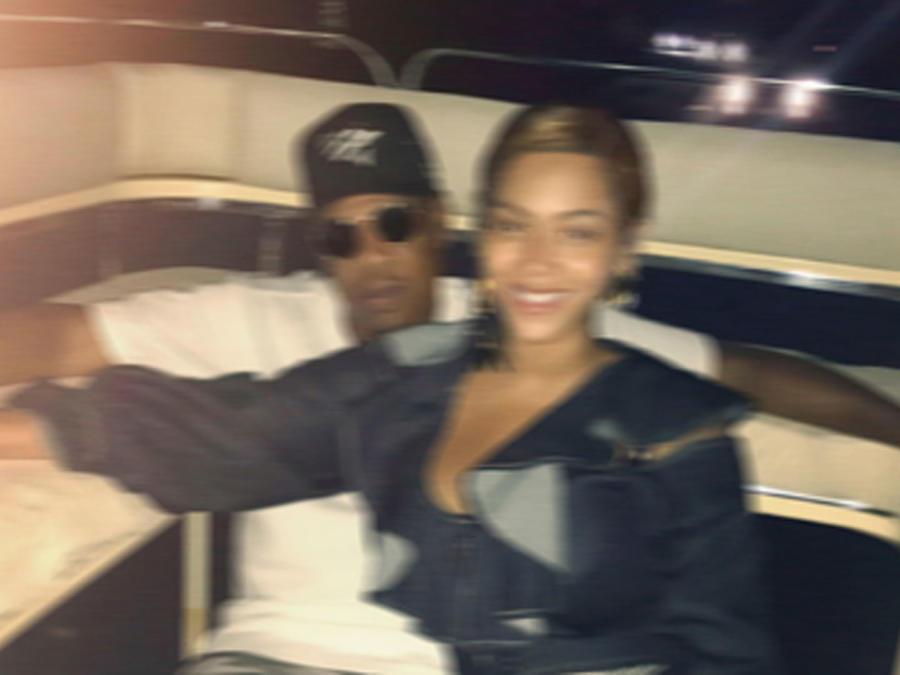Beyoncé con Jay-Z