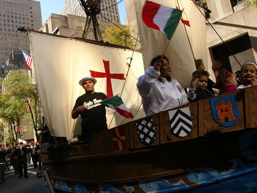 Celebración de Columbus Day