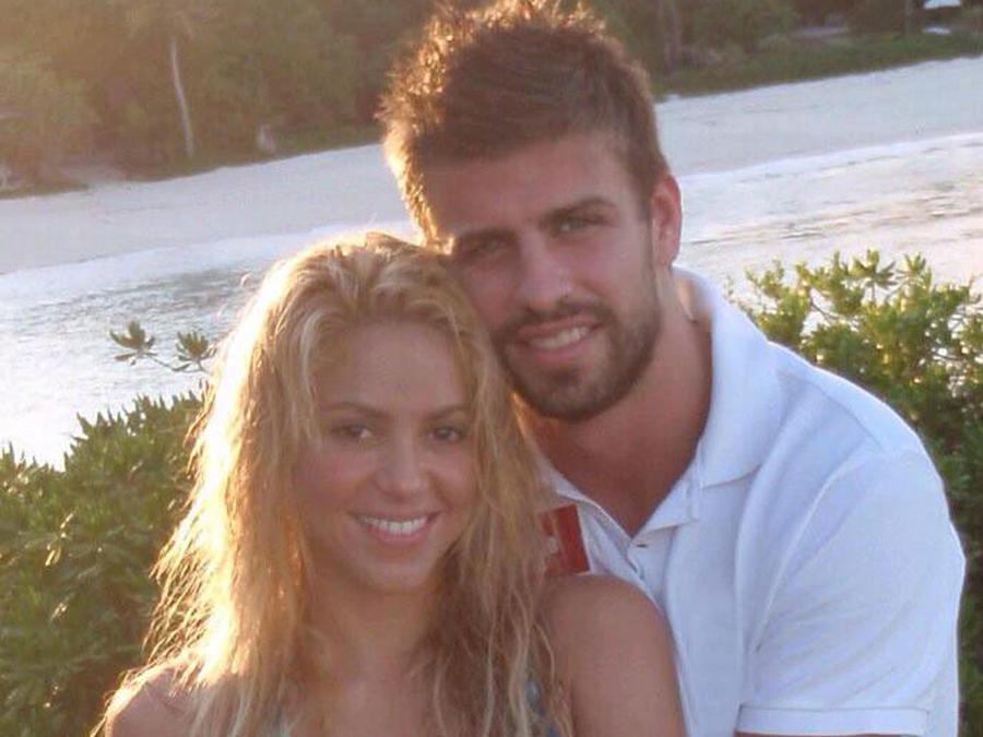 Shakira con Gerard Piqué