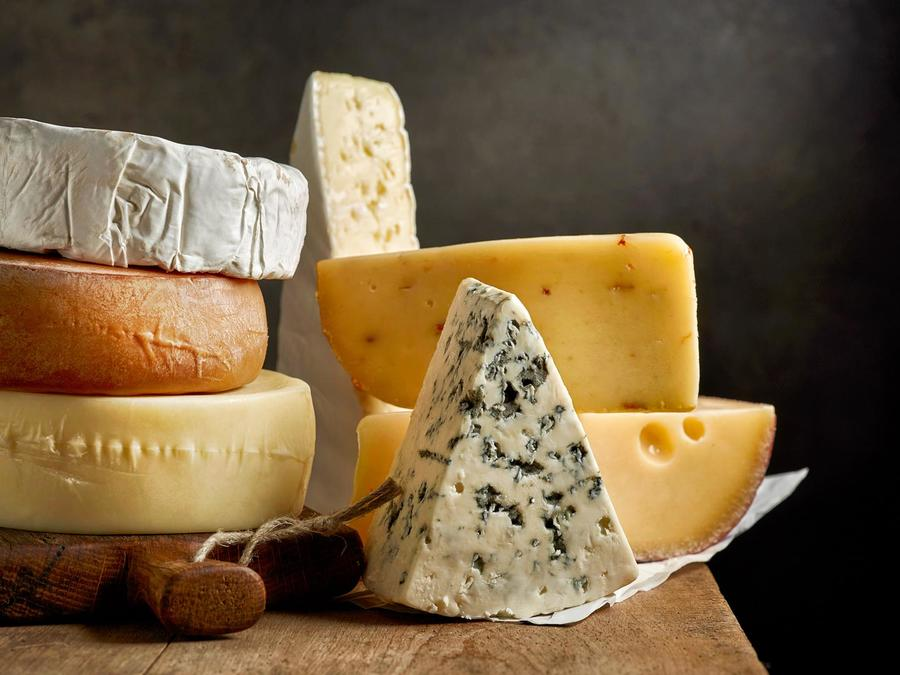 Variedades de quesos