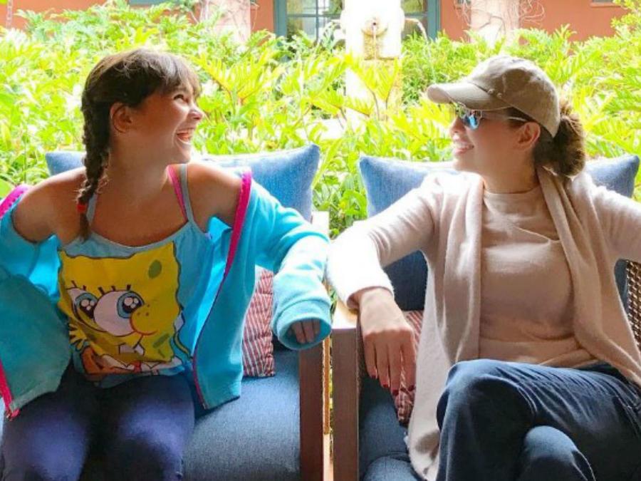 Thalía y su hija Sabrina