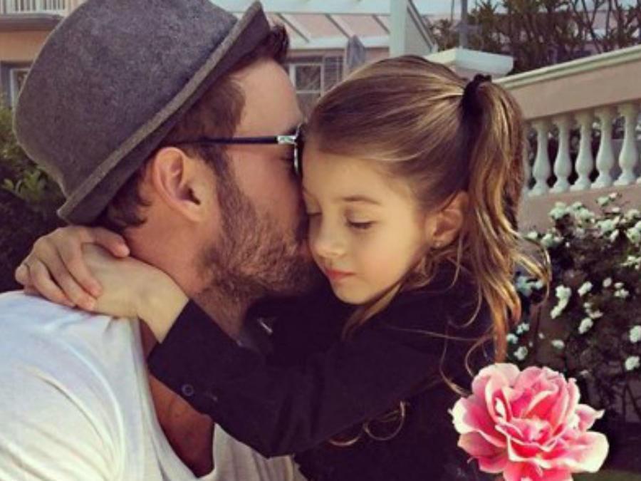 William Levy y su hija Kailey