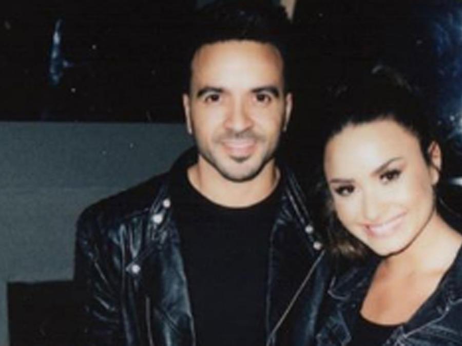Demi Lovato con Luis Fonsi