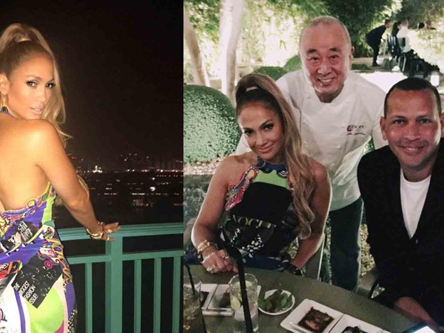 Jennifer Lopez Takes Her Booty to United Arab Emirates with Alex Rodriguez (PHOTOS + VIDEO)
