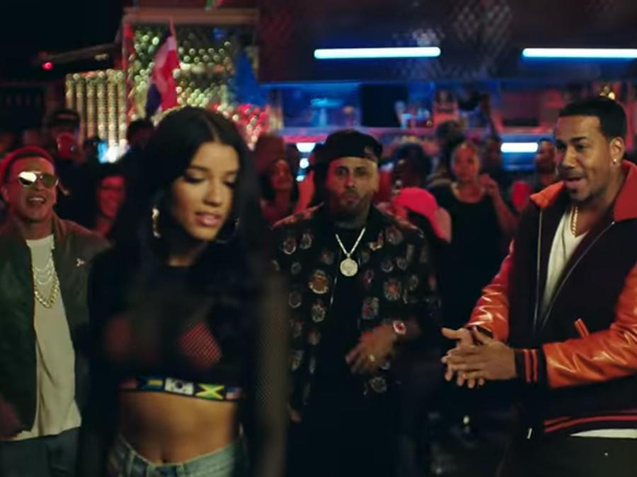 Daddy Yankee, Yovanna Ventura, Nicky Jam, Romeo Santos