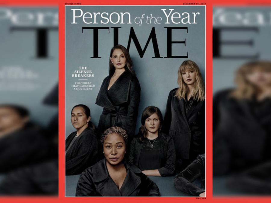 Portada Time: Persona del Año 2017