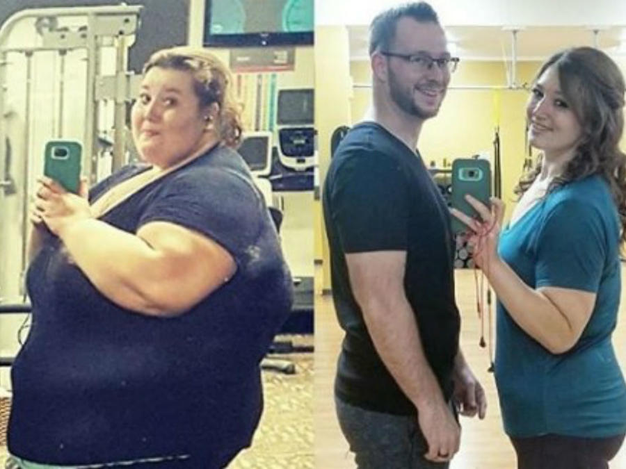 Pareja obesa