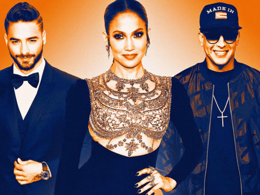Maluma, Jennifer Lopez y Daddy Yankee